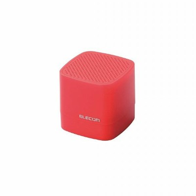 エレコム Compact Wireless Speaker LBT-SPCB01AVRD [LBTSPCB01AVRD]