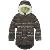 【バートン】BURTON YOUTH GIRLS LYRA JACKET カラー:Dark Ash Ditsy Fairisle