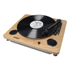 【レコードプレーヤー】ION(アイオン) Archive LP -Digital Conversion Turntable with Built-in Stereo Speakers- USB端子...