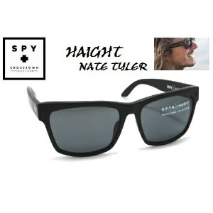 ★SPY★スパイ★CROSSTOWN★HAIGHTXNATE TYLER★MATTE BLACK-GREY★サングラス
