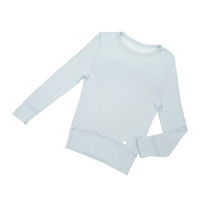 FOXEY BOUTIQUE Knit Tops(シアーエレガンス) ベビーブルー 40 A1 【中古】