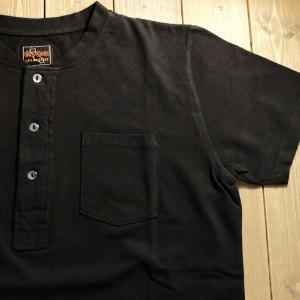 "O.C CREW""SOLID HENRY TEE""BLACK【O.C CREW】(オーシークルー)正規取扱店(Official Dealer)Cannon Ball(キャノンボール)【あす楽対応..."
