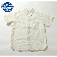 No.BR35857 BUZZ RICKSONS バズリクソンズOFF WHITE CHAMBRAYS/S WORK SHIRT