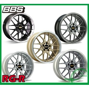【ホイール1枚】BBS RG-R18×8.5J PCD114/5H +53 カラー:【DS/SLC/BKD/DB/GLD】【TYPE:RG750】