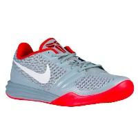 Nike Kobe MentalityDove Grey/University Red/Bright Crimson/Platinum メンズ ナイキ メンタリティー バッシュ コービー NBA...
