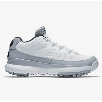 Air Jordan 9 Retro メンズ White/Wolf Grey/Black ジョーダン ゴルフシューズ NIKE GOLF SHOES