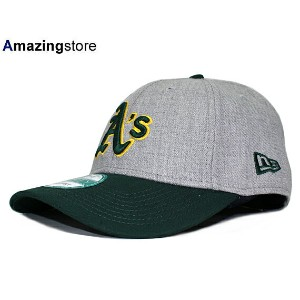 NEW ERA OAKLAND ATHLETICS 【PINCH HITTER 9FORTY ADJUSTABLE/HEATHER GREY-GRN】 ニューエラ オークランド アスレチックス...