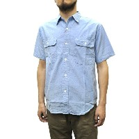 SERO(セロ) 【MADE IN JAPAN】 S/S WORK SHIRTS(日本製半袖ワークシャツ) CHAMBRAY