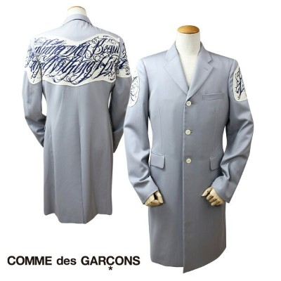 COMME des GARCONS HOMME PLUS コムデギャルソン ジャケット ロングコート グレー メンズ 【決算セール】
