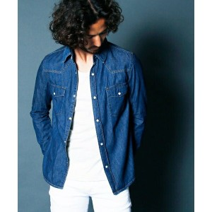 【Magine(マージン)】1631-05-6.5oz CTN DENIM WESTERN SHIRTS シャツ