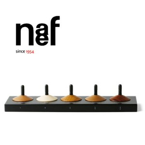 Naef ネフ社 木のコマ5個セット Holzkreisel~スイス・Naef(ネフ社)の5種類の木でできた美しい木目のこま5個セットです。