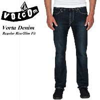 VOLCOM【ボルコム】Vorta Denim UDB(USED BLUE) Regular Rise Slim Fit メンズ / スケート / SK8 / サーフィン