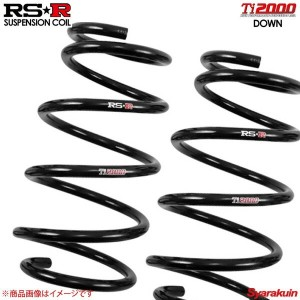 RS-R RSR ダウンサス Ti2000 DOWN Cクラス W203(203042) RS-R BE011TDR リア RS-R RSR