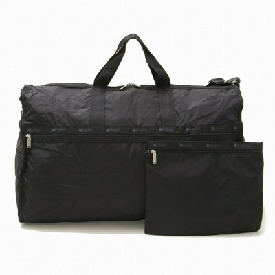 LeSportsac レスポートサック ボストン EXTRA LARGE WEEKENDER BLACK
