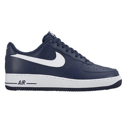 (取寄)NIKE ナイキ メンズ エアフォース 1 ロー スニーカー Nike Men's Air Force 1 Low Midnight Navy Midnight Navy White ...