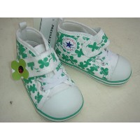 ★CONVERSE BABY ALL STAR PATCH V-1 7CJ498 GREEN 。