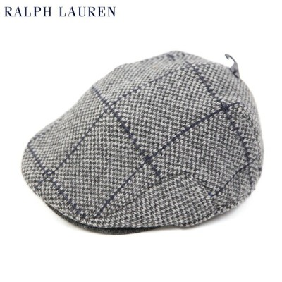 Polo by Ralph Lauren Wool Tweed Knit Driving Cap US ポロ ラルフローレン ニット ハンチング キャップ