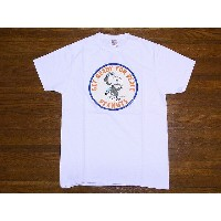Buzz Rickson's[バズリクソンズ]×PEANUTS[ピーナッツ] Tシャツ スヌーピー SNOOPY BR77286 GET READY FOR PEACE (WHITE)