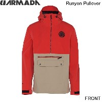2015/2016ARMADA【Runyon Pullover/Red/15MJA-RUN-RED】S