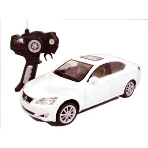 1:14 Scale Lexus IS 350 r Full Function ラジコンled Car Official Liciense Model (Color: White) お