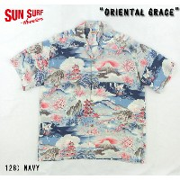 "No.SS37139 SUN SURF サンサーフS/S RAYON HAWAIIAN SHIRT""ORIENTAL GRACE"""