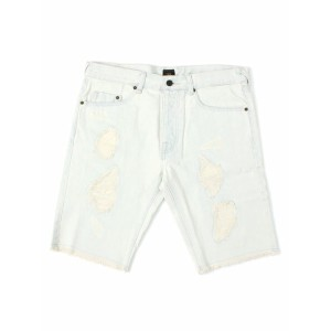 【SALE】10DEEP BRAIN DAMAGE DENIM SHORT【52TD2401-456-LIGHT BLUE HWASH】