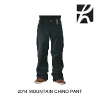2014 HOLDEN ホールデン パンツ MOUNTAIN CHINO PANT BLACK