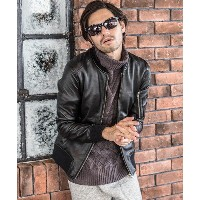 【CAMBIO(カンビオ)】Ram Leather MA-1 Jacket ジャケット