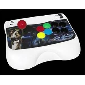 Fighter Stick ~SNK VS CAPCOM SVC CHAOS Version~C model サミー PlayStation2 未使用
