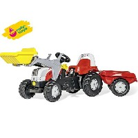 Rolly Toys(ロリートイズ) ロリーキッズ ステアキッズ (RT023936) はたらく車の乗用玩具 【楽ギフ_包装】  02P03Dec16