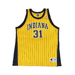 【CHAMPION】NBA PACERS MILLER BASKETBALL JERSEY [YELLOW:XL(48)]/チャンピオン