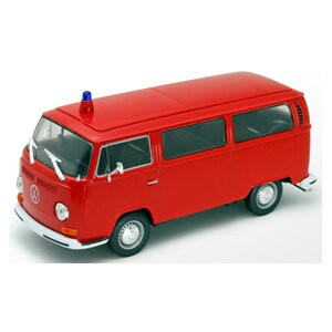 1/24 VW バス T2 1972 消防(レッド)【WE22472FR】 WELLY [WELLY.WE22472FR.VW バス ショウボウ レッド]【返品種別B】