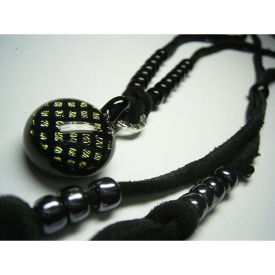 VIVIFY(ヴィヴィファイ)VIVIFY x TOPNOCH Fence Pattern Rame Leather Necklace【職人の完全手作業による逸品】【ネックレス】【送料無料】