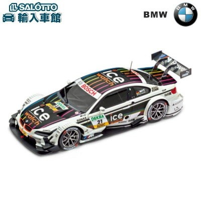 "【 BMW 純正 】 モデルカー BMW M3 DTM 2013 スケール:1:18(1/18) Sum's Model Toys Co.Ltd "" IceWatch """" MarcoWittmann..."