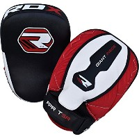 RDX Boxing Punch フォーカス Hook & Jab Pads タイ Kick Strike Shield MMA Punching Mitts ターゲット Training ...