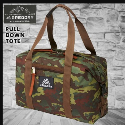 GREGORY(グレゴリー) PULL DOWN TOTE DEEP FOREST CAMO プルダウントート ディープフォレストカモ /659174631 (N)