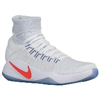 "Nike Hyperdunk 2016 Flyknit ""USA Home"" メンズ White/Dark Obsidian/Bright Crimson ナイキ バッシュ ハイパーダンク..."