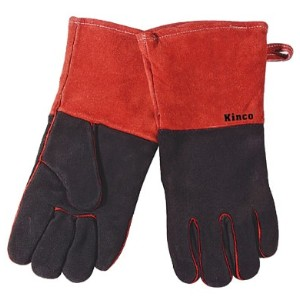 溶接用革手袋 牛革 Kinco Gloves(キンコグローブ) Cowhide Leather Welding/Fireplace Gloves 7900-L