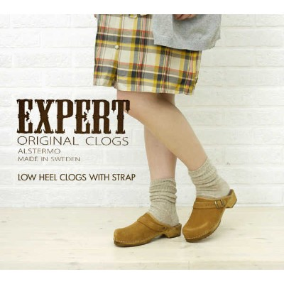 【40%OFF】【エキスパート EXPERT】LOW HEEL CLOGS WITH STRAP・NEP1051L-0341102【レディース】【RCP】【シューズ】【A-3】