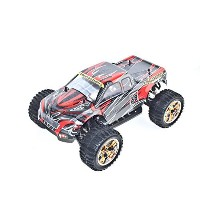 ALEKO RCC94111RED 1/10TH Scale Electric Powered モンスター Truck, レッド 「汎用品」(海外取寄せ品)