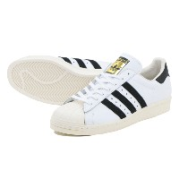 ADIDAS SUPERSTAR 80s アディダス スーパースター 80s WHITE/BLACK/CHALK
