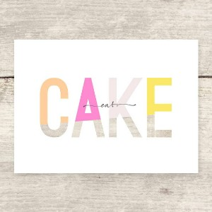HAVEN PAPERIE | EAT CAKE | グリーティングカード