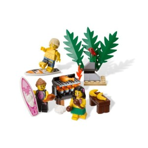 レゴ ミニフィギュア 850449 Beach Minifigure Accessory Pack