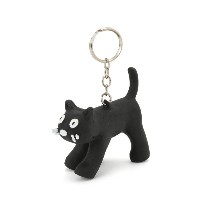 CHA CHA_KEY RING CAT