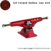 INDEPENDENT(インディペンデント) STAGE11 149 FORGED HOLLOW ANO RED 1個売り SK8 トラック TRUCK