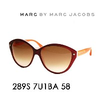 【OUTLET★SALE】アウトレット セール マークバイマークジェイコブス サングラス MMJ-289S BA 58 MARC BY MARCJACOBS