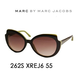 【OUTLET★SALE】アウトレット セール マークバイマークジェイコブス サングラス MMJ-262S J6 55 MARC BY MARCJACOBS