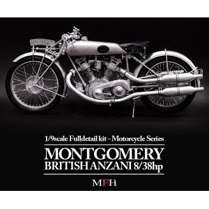 MONTGOMERY BRITISH ANZANI 8/38h.p. 1/9scale Fulldetail kit