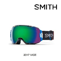 2017 SMITH スミス ゴーグル GOGGLE VICE EXPOSURE/GREEN SOL-X MIRROR ASIAN FIT
