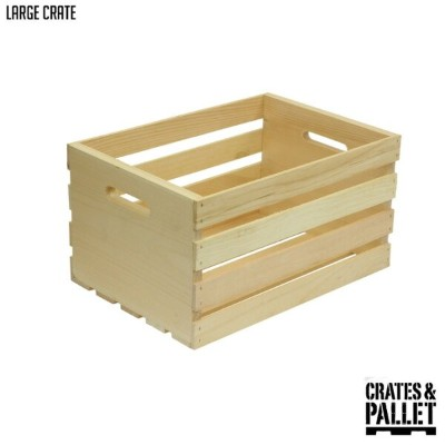 Large Crate(ラージクレート) CP-69001 CRATES&PALLET(クレートアンドパレット) 収納ボックス・収納ケース あす楽対応